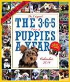 The 365 Puppies-a-Year 2014 Calendar (Picture-A-Day Wall Calendars)