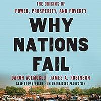 Why Nations Fail: The Origins of Power, Prosperity, and Poverty Hörbuch von Daron Acemoglu, James Robinson Gesprochen von: Dan Woren