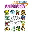 mandalicious: A fun and beautiful coloring book for everyone