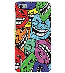PRINTSWAG SMILEYS Designer Back Cover Case for HUAWEI HONOR 6
