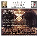 Richard Strauss: Don Juan; Till Eulenspiegel; Also sprach Zarathustra