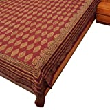 Cotton Bedcovers Block Printed Bed Spread Size Queen