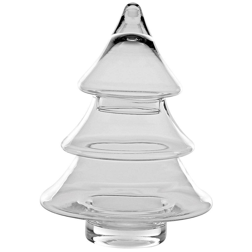 Christmas trees cookie jars christmas wikii for Christmas glass jars