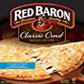 Red Baron Four Cheese Classic Crust Pizza, 21.06 Ounce -- 16 per case.
