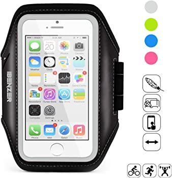 Exercise Armband with Key & ID Card Holder