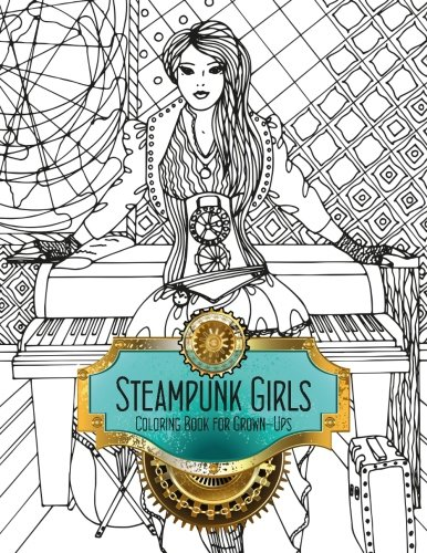 Steampunk-Girls-Coloring-Book-for-Grown-Ups-1-Volume-1