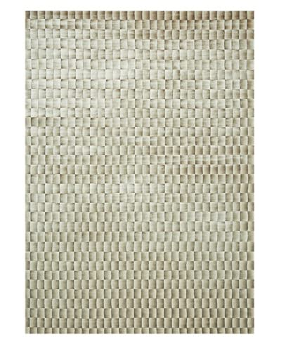 Trade-Am Illusion Rug, Beige/Brown, 5' x 7'