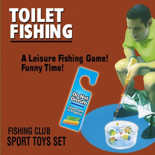 Potty Fisher gioco per pesca da toilet by Fairly Odd Novelties