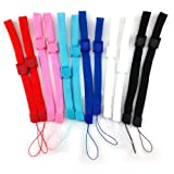 yueton 12pcs Universal Replacement Hand Wrist Strap Wristlet Wristband with Lock for Wii Remote Controller, Mobile Phone, MP3, Digital Camera