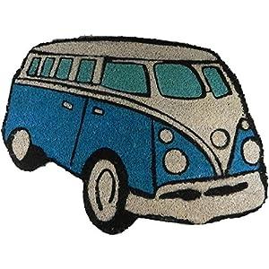 VW Campervan Doormat Blue from Giftworks