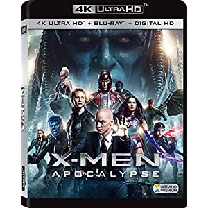 X-Men : Apocalypse [4K Ultra HD + Blu-ray + Digital HD]