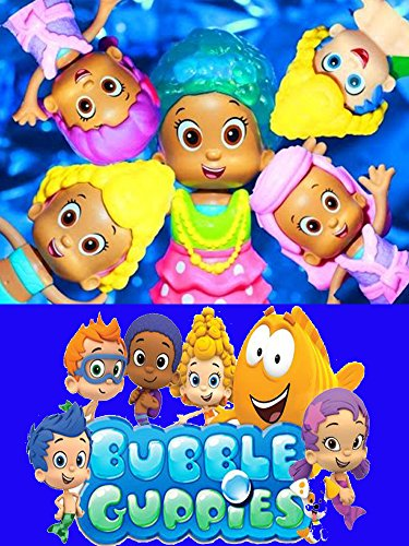 Bubble Guppies Molly Mermaid Hair Salon Changing Outfits Makeover Nick Jr Video Fisher Price Nickelodeon