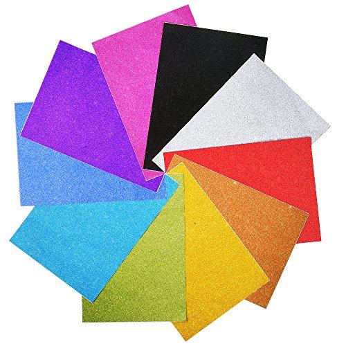 outus-self-adhesive-glitter-vinyl-sticker-metallic-gemstone-sign-art-sheets-a4-10-pieces
