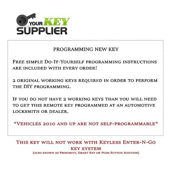 BestKeys 812TC-RK-CHY-FBK-7 Remote Start