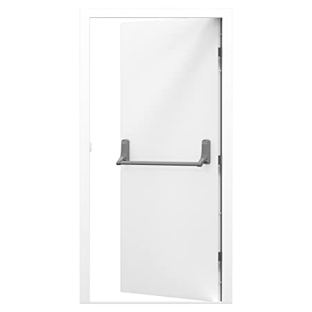Latham's Standard Duty Security Steel Fire Exit Door - LH Hinged (995x2020)