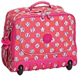 Kipling Unisex-Adult New Dallin Laptop Bag, Dot Print Pink, K10779