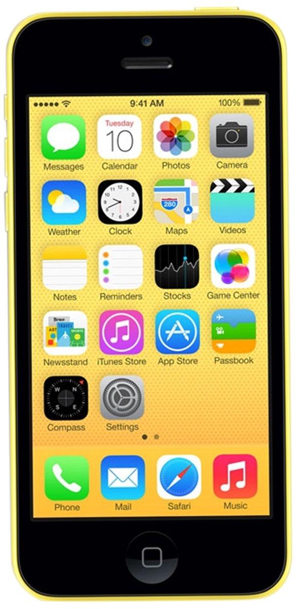 Smartphone APPLE IPHONE 5C JAUNE 32GO