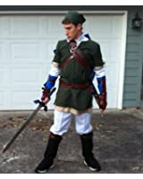 The Legend of Zelda Twilight Princess Sprites Cosplay Costume Link Outfit