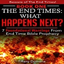 The End Times: What Happens Next?: 7 Foundational Warnings from End Time Bible Prophecy Audiobook by Tiffany Domena Narrated by Barbara Ann Martin