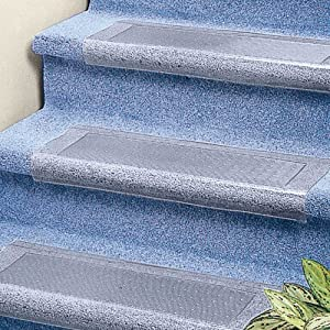 Clear Stair Treads Carpet Protector: Amazon.co.uk: DIY & Tools