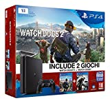 PlayStation 4 1 Tb D Chassis Slim + Watch Dogs 2 + Watch Dogs [Bundle]