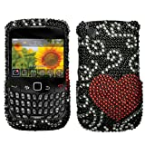 MyBat BlackBerry Curve 8520 / 8530 / 9300 / 9330 Diamante Protector Cover - ....