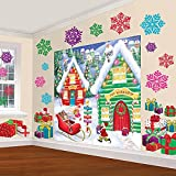 North Pole Christmas Scene Setters