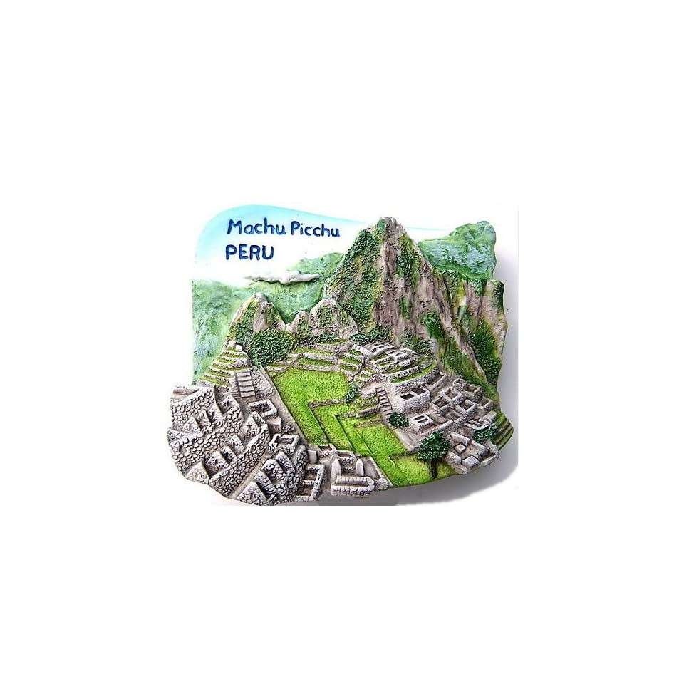 Machu Picchu Peru South America 3D Resin TOY Fridge Magnet Free Ship