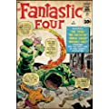 Roommates Rmk1645Slg Fantastic Four Peel And Stick Comic Cover