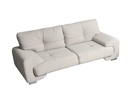 Hieknn 3-Sitzer Dreisitzer Sofa Megan 3 ! Couch Polstermoebel! Große Farbauswahl (Hugo 2)