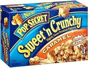 Pop-Secret Sweet 39n Crunchy Caramel Microwave Popcorn 4 Pack- 12 Bags