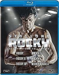 シルベスター・スタローン ロッキー ブルーレイ  BOX(6枚組)(初回生産限定) [Blu-ray]