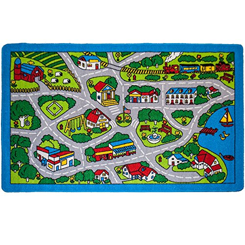 Learning Through Play: Kids' Road Rugs For Toy Cars