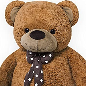 grand nounours g ant ours en peluche ourson xxl teddy bear 150 cm chambre enfant. Black Bedroom Furniture Sets. Home Design Ideas