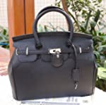 Glamour Elegant PU Faux Leather Padlo...