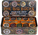 THE BIG BUCK$ - 200 CLAY CHIPS POKER SET
