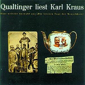 Qualtinger liest Karl Kraus. Eine Auswahl Hörbuch