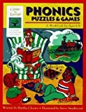 img - for Phonics Puzzles & Games: A Workbook for Ages 6-8 (Gifted & Talented) book / textbook / text book