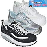 SKECHERS XF Shape Ups Womens Gym Running Walking Sports Trainer Shoes Size UK 3-8
