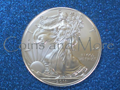 2011 American Silver Eagle Coin in