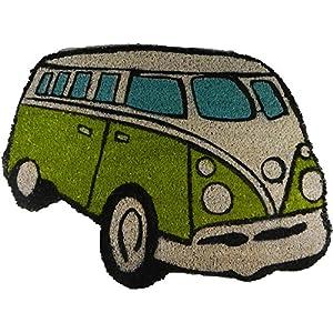 VW Campervan Doormat Lime by Giftworks