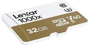 Lexar Professional 1000X 32GB microSDHC Uhs-II Card