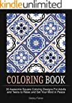 Coloring Book: 30 Awesome Square Colo...