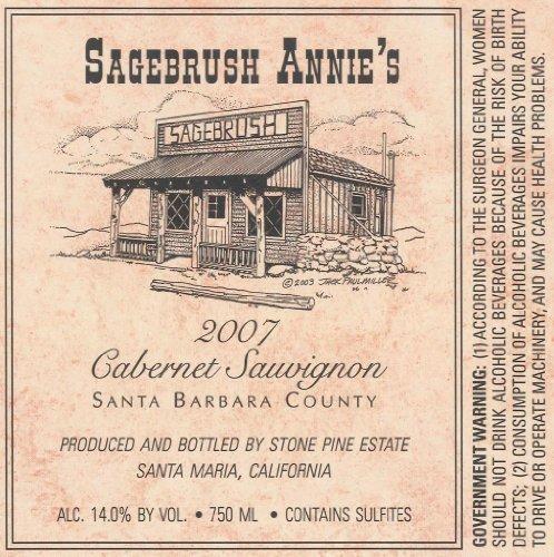 2007 Sagebrush Annie'S Santa Barbara County Cabernet Sauvignon 750 Ml