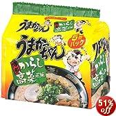 ハウス うまかっちゃん博多からし高菜風味 5食P×6個