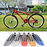 Alria Bicycle Cycling Front and Rear Mud Guards Set Mountain Bike Tire Fenders Mudguard