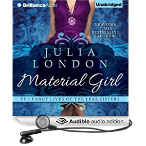 Material Girl: The Fancy Lives of the Lear Sisters, Book 1 (Unabridged)