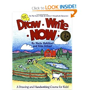 Draw Write Now, Book 1: On the Farm-Kids and Critters-Storybook Characters (Draw-Write-Now)