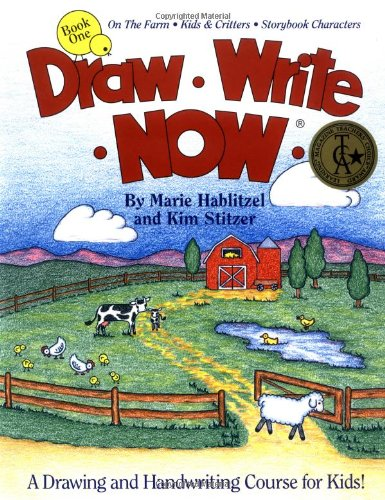 Draw Write Now, Book 1: On the Farm-Kids and Critters-Storybook Characters (Draw-Write-Now) (Draw Write Now 4 compare prices)