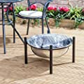 Fire Mountain Havana Stainless Steel Garden Fire Pit And Cover by Fire Mountain